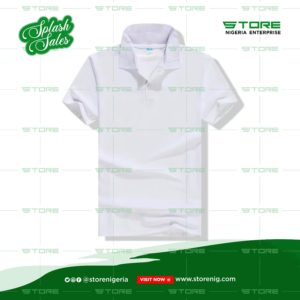Men's White Collar Shirt
