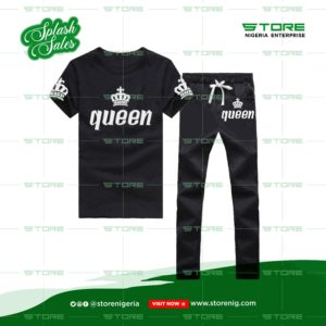 queen women tracksuit