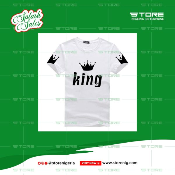 men's tshirt king crown