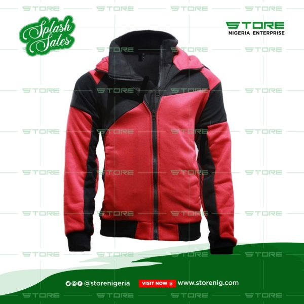 Men's Double Zipper Jacket